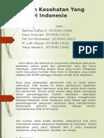 Sistem Kesehatan Yang Baik Di Indonesia