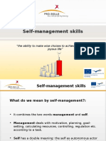 Presentation Self-management Skills