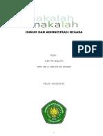 Hukum Dan Administrasi Negara