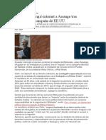Ecuador Restringió Internet a Assange