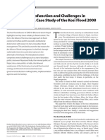 Case Study of the Kosi Flood 2008