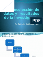 2. Recolección Datos y Resultados
