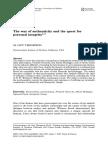 Artículo Autenticidad en Heidegger y Nietzsche