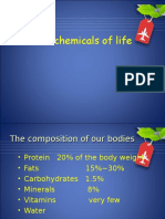 IGCSE Biology Chapter4 the Chemicals of Life