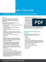 LOTE Information on Discrimination Somali