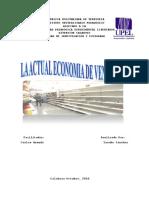 Artículo de La Economia en Venezuela.