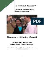 HWT Bonus - Original Sticky Card Write-up