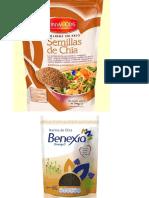 Productos de Chia