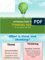 Introduction ToThinking Skills