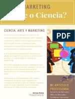 Marketing ¿Arte o Ciencia?