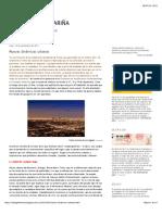 Nuevas dinámicas urbanas | EL BLOG DE JOSÉ FARIÑA