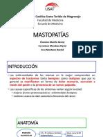 Mastopatías Benignas y Cáncer de Mama Final