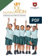 Primary School Education Booklet