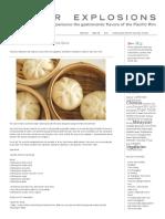 Cha Siu Bao – Steamed Bbq Pork Buns
