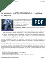 EL MERCADO INMOBILIARIO | HEBRUN
