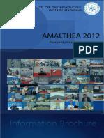 Amalthea 2012 Brochure