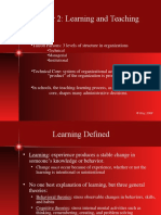 Ch2 Learning & Teaching