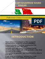 Pak China Economic Corridor