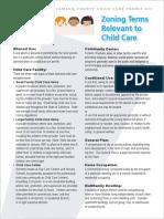 Alameda Child Care Zoning