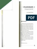 Hoffmann, J. (2010). La Evaluación Mediadora