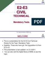 Mandatory Test