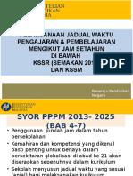 Jadual 2017 kssr