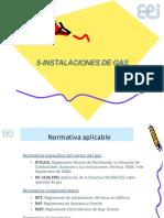 Tema 5 - Instalaciones de Gas