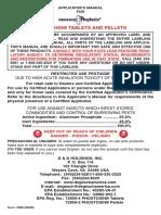 Applicator Manual_phostoxin & Pellets