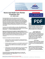 Nurse Healthcare Worker Protection Act