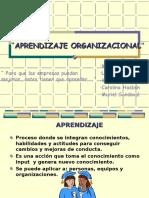 APRENDIZAJE ORGANIZACIONAL (1)