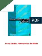 Livro Estudo Panorâmico Da Bíblia Capitulo 04_ Levitico