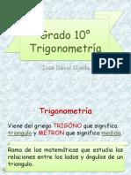 CONCEPTOS INICIALES TRIGONOMETRIA