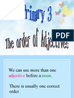P3_The Order of Adjectives