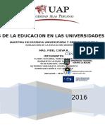 Informe Final de Universidades