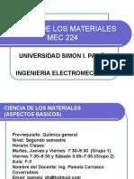 Ciencia de Los Materiales Mec 224
