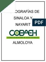 MONOGRAFÍAS de Sinaloa y Nayarit