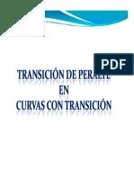 Clase de Transicion de Peralte en Curvas Espiralizadas
