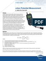 Introduction to Oxidation Reduction Potential Measurement