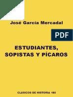GMercadal Estudiantes Sopistas Y Picaros