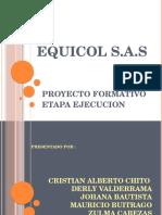 Ejecucion Equicol s.a.s
