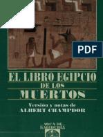 Albert Champdor El Libro Egipcio de Los Muertos