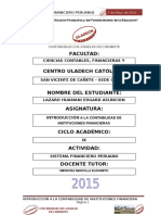 Instituciones Que Supervisan El Sistema Financero Peruano