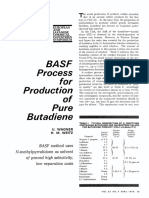 BASF Process Butadiene Separation
