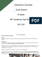 Speaking Part 2 Examples