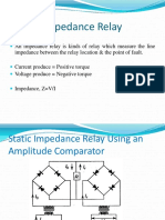 Static Impedance Relay