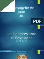 Eduardo Suanzes - Teología del Evangelio de Juan - 3 Los Hombres Ante El Revelador