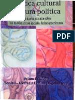 Arturo Escobar. Grueso. Rosero. El Proceso de Organización de Comunidades. PDF Negras en La Región Sureña de La Costa Pacífica de Colombia. PDF. Política cultural y cultura política.