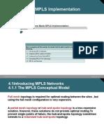 Frame Mode MPLS Implementation