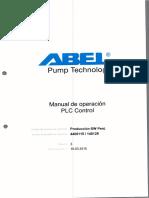 Manual Control de bomba ABEL 1 de 3