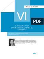 Dialnet-ElDesafioDeLaPosmodernidadParaElCristiano-4757997